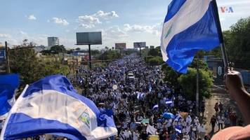 fire and shooting kill at least 8 in nicaragua, ending truce