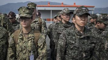 us, south korea could announce pause of 'large-scale' joint exercises