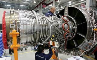 rolls-royce files patent for electric jet engines