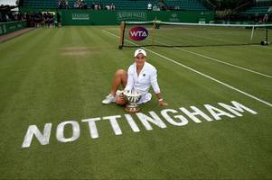 johanna konta furious in defeat as ashleigh barty triumphs at nottingham open