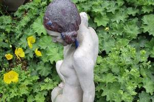 Artwork by top English sculptor worth thousands discovered in Lincolnshire garden