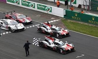 Toyota TS050 Hybrid Claims Le Mans Win