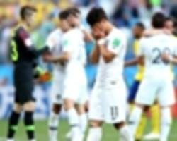 'they were too tall!' - south korea loss blamed on sweden's height
