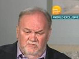 Thomas Markle says Prince Harry told him to 'give Donald Trump a chance'