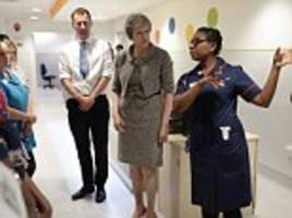 May unveils HUGE £25bn funding boost for struggling NHS