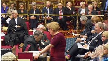 brexit deal: 'meaningful vote' battle to resume in lords