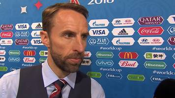 World Cup 2018: Gareth Southgate on England's win over Tunisia