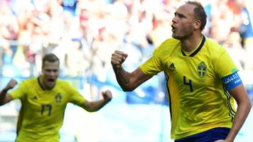 World Cup 2018: Sweden's Andreas Granqvist scores penalty against South Korea after VAR review