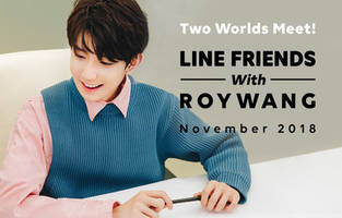 LINE FRIENDS Collaborates with Roy Wang as Part of its 'FRIENDS CREATORS' Project to Create New Characters