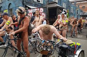 Facebook and Instagram totally miss the point of the Naked Bike Ride - and ban users for sharing pics