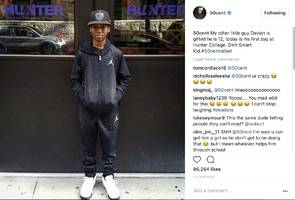 50 Cent's Son Marquise Trolls Him W/ Sad AF Father's Day Pic