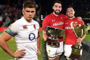 the home nations rugby xv of the weekend as wales, ireland, scotland and england experience very different emotions