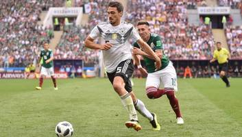 Mats Hummels Slams Germany Defending After 'Wake-Up Call' in Mexico Defeat