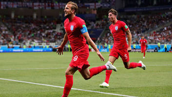 Tunisia 1-2 England: Injury Time Harry Kane Header Sees Off Tunisia in England's World Cup Opener