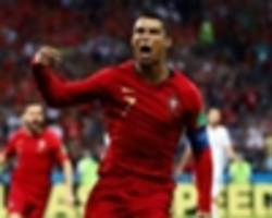 'ronaldo can't even lose at table tennis!' - evra gives amazing insight into portugal star