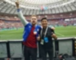 Russia Diary: Timur Sidelnikov - Football is loved because it is for everyone, anywhere
