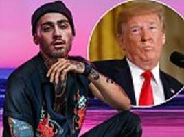 zayn malik reveals he's considering running for political office in the us