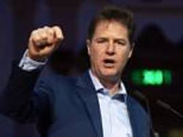 nick clegg's u-turn as he now warns the eu that immigration is not an 'untouchable principle'