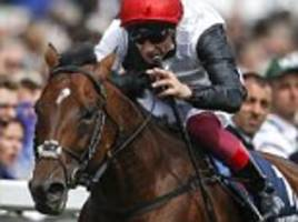 frankie dettori targets more glory with cracksman after opening day treble at royal ascot