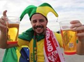 Moscow low on beer as visiting World Cup fans run risk of drinking Russian capital dry