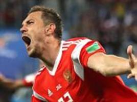 Russia 3-1 Egypt: Mohamed Salah's World Cup hopes on the brink