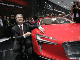 the downfall of audi's ceo won't affect the company's plans to take on tesla, experts say