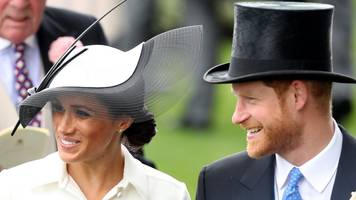 Duke and Duchess of Sussex arrive at Royal Ascot