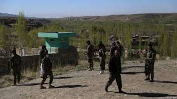 afghan official says taliban assault kills 4 security personnel