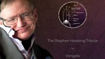 stephen hawking's voice to reach black hole in 3,500 years