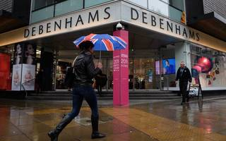 debenhams warns on profits in fresh blow for the high street