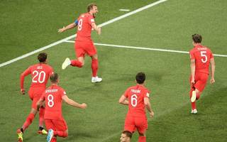 kane's brace proves he's the perfect front man for fresh faced england