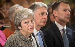 Theresa May defiant as Brexit rebels fight on over bill