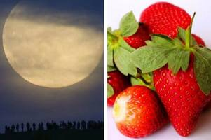 strawberry moon 2018: what is it and when can i see it in gloucestershire?