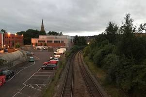 Man detained under Mental Health Act after jumping off Exeter railway bridge