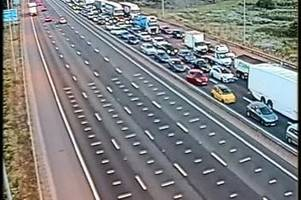 M25 Dartford Crossing traffic: Delays expected until almost midnight after serious incident