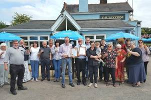 waltham abbey pub woodbine could be the best cider pub in country just years after 'nearly closing'