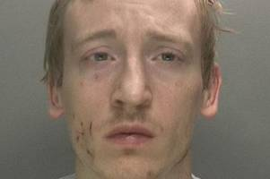 jailed rapist serves extra prison sentence after trapping and choking female prison guard