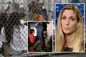 donald trump author ann coulter sparks outrage with 'child actor' claims over migrant kids in cages