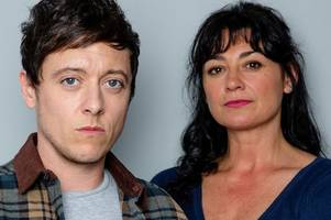 emmerdale's moira barton is shocked to discover intruder is her son matty after a secret sex change