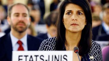 us 'to quit un human rights council'