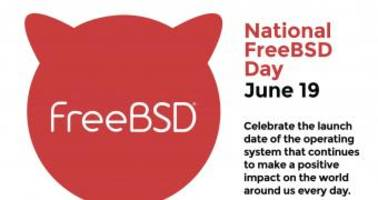 june 19 has been declared national freebsd day, happy 25th anniversary freebsd!