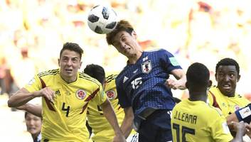 Colombia 1-2 Japan: Yuya Osako Winner Hands Japanese Shock Victory Over 10 Man Los Cafeteros