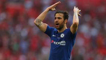 'never the same after you left': cesc fabregas heaps praise on former arsenal vice-chairman