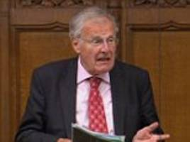 tory mp who blocked probe into bercow was nominated for a knighthood by the speaker