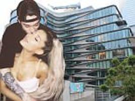 ariana grande and pete davidson's luxury new $16m home revealed
