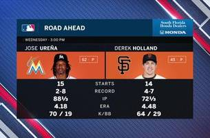 Marlins look to leave San Francisco with a series win