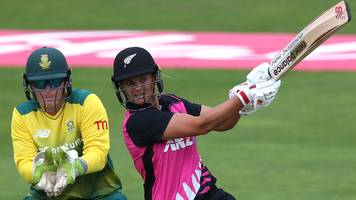 New Zealand women hit record T20 score of 216 against South Africa