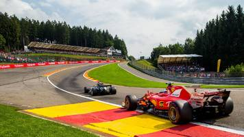 belgian gp: f1 extends contract of spa-francorchamps track