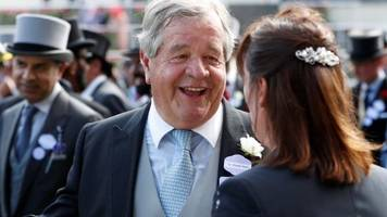 trainer stoute sets ascot record with poet's word