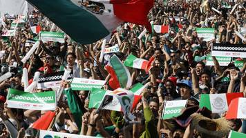 world cup 2018: fifa issues £7,615 fine for 'homophobic chanting' by mexico fans